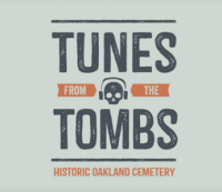 Tunes from the Tombs at Oakland Cemetery on June 9, 2018