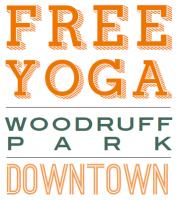 Free Yoga in the Park at Woodruff Park in Atlanta
